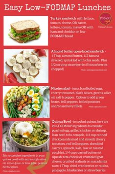 When I first started the low-FODMAP diet in 2013 I will admit, just like for Fodmap Recipes, Diet Recipes, Healthy Recipes, Diet Tips, Healthy Breakfasts, Nutrition Tips, Recipes Dinner, Lunch Recipes, Smoothie Recipes