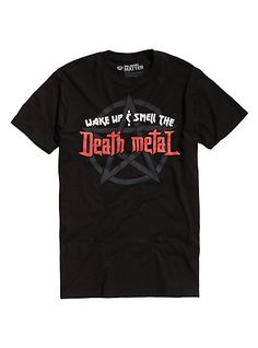 Smell The Death Metal T-ShirtSmell The Death Metal T-Shirt, BLACK