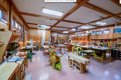 Now THIS is a wood shop!!, wood workshop, organize, tools,