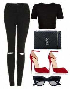 67 Ideas For Fashion Style Women Casual Saint Laurent Looks Chic, Looks Style, My Style, Classy Outfits, Stylish Outfits, Fall Outfits, Look Fashion, Fashion Outfits, Womens Fashion