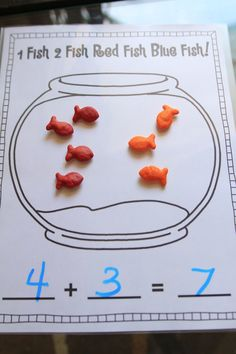Mrs Ricca's Kindergarten: Fun With Addition! {freebies images ideas from All About Kindergarten Kindergarten Classroom, Kindergarten Activities, Teaching Math, Kindergarten Addition, Therapy Activities, Teaching Resources, Math For Kids, Fun Math, Math Work