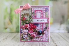 Tattered Lace Picture Decoupage Collection [Dispatch from May] - ★ New Arrivals Crafty Projects, Projects To Try, Birthday Card Pop Up, Daisy Hill, Tattered Lace Cards, Shaped Cards, Create And Craft, Card Maker, Vintage Labels
