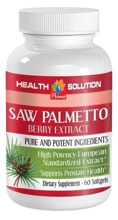 Prostate natural supplement - SAW PALMETTO BERRY EXTRACT - Saw palmetto extract hair - 1 Bottle 60 Softgels >>> Visit the image link more details. (This is an Amazon Affiliate link and I receive a commission for the sales)