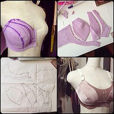 Making a sports bra