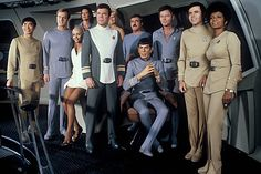"StarTrek: The crew of the Enterprise from ""Star Trek - The Motion Picture"" Film Star Trek, Star Trek 1966, Star Wars, Star Trek Tos, Star Trek Enterprise, Star Trek Original Series, Star Trek Series, Stephen Collins, Mejores Series Tv"