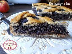 Mákos pite szilvalekvárral Hungarian Desserts, Hungarian Recipes, Vegan Baking, Healthy Baking, Healthy Desserts, Healthy Recipes, Smoothie Fruit, Desert Recipes, No Bake Cake