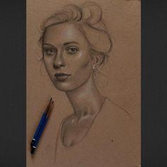 Iraklı Ressam Husam Wleed'ten 20+ Parlak ve Gerçekçi Kadın Portresi Sanatlı Bi Blog 25