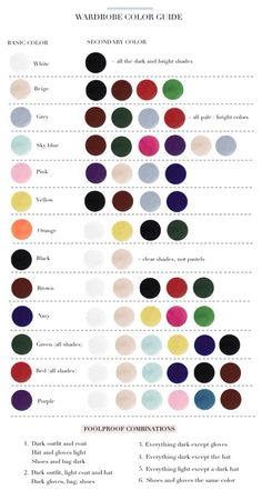 """My latest find on Trusper may blow you away: """"Wardrobe Color Guide✨"""""""
