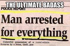 The ultimate achievement…