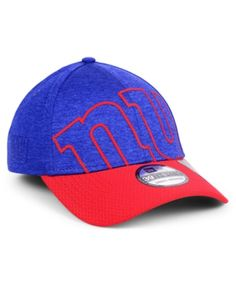 New Era New York Giants Oversized Laser Cut Logo 39THIRTY Cap - Blue L XL 812ec94439b