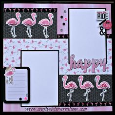 Hello Friends! May is National Scrapbooking Month and this week at Heart 2 Heart Challenges, we want to see your scrapbook layouts! For my layout I used the brand spanking new Calypso paper collec…