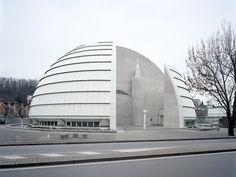 Saint Massimiliano Kolbe | Varese, Italy  | Architect Justus Dahinden | photo by  Daniela Droz  Tonatiuh Ambrosetti