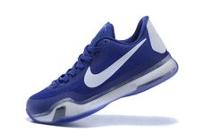 2dcff405503f Cheap Kobe 10 X Royal Blue White Duke Blue 2018 Spring Summer Sale Kobe 8  Shoes