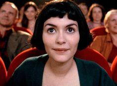 """Audrey Tautou as Amélie Poulain, """"Le fabuleux destin d'Amélie Poulain"""" Audrey Tautou, Audrey Hepburn, Wes Anderson, Pulp Fiction, Series Quotes, Please To Meet You, Little Bit, Destin, Still Life Film"""