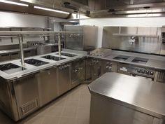 hotel kitchen design - ockendon manor, sussex -space catering