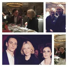 With Cate Blanchett