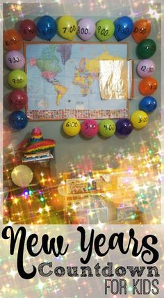 EPIC New Years Countdown for Kids