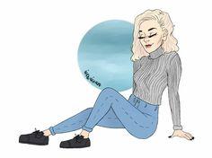 女王 Noora Skam Style, Five Friends, White Girls, Pencil Drawings, Art Inspo, First Love, Disney Characters, Fictional Characters, Animation