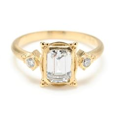 Megan Thorne Picture Frame Engagement Ring