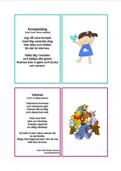 Mariaslekrum - Illustrerade sånger. Learn Swedish, Swedish Language, Educational Activities For Kids, Music Classroom, Kids And Parenting, School Supplies, Crafts For Kids, Singing, Preschool
