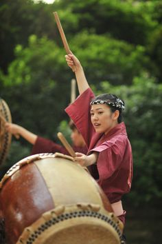 Nezu Gongendaiko taiko troupe, Nezu Shrine festival, Tokyo