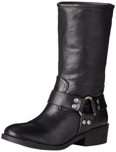 Lucky Women's Rolanda Harness Boot => Discover this special boots, click the image : Boots Mid Calf