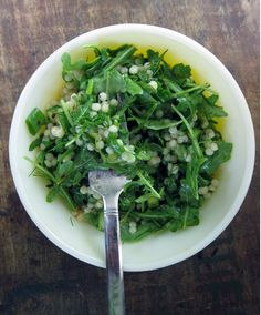 A Peppery Bite: Couscous and Arugula Salad