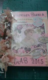 Scrap da Ester: caderno Decorado