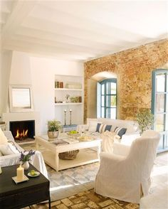 New Home Interior Design: Rustic Home in Spain