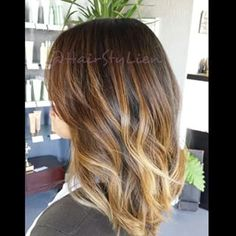 balayage hair medium length - Google Search