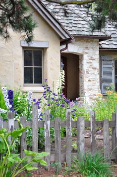 a cottage garden for a classic cottage