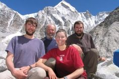 Meet the Mallorys, the first family to climb Everest in 2008.