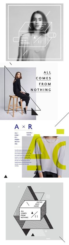 Layout / All Comes From Nothing on Behance Web Design, Book Design, Layout Design, Print Design, Poster Layout, Print Layout, Layout Inspiration, Graphic Design Inspiration, Design Editorial