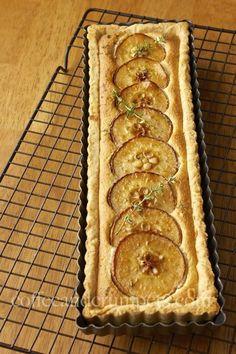 Pear and Thyme Frangipane Tart