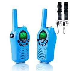AVALID Walkie Talkies for kids, 22 Channel FRS/GMRS Long Range (up to 5KM) Two-Way Radios with Free Straps, Ultra-Long Standby /Back-lit LCD Screen Radio Walkie for Indoor /Outdoor Activities (Pair)   http://huntinggearsuperstore.com/product/avalid-walkie-talkies-for-kids-22-channel-frsgmrs-long-range-up-to-5km-two-way-radios-with-free-straps-ultra-long-standby-back-lit-lcd-screen-radio-walkie-for-indoor-outdoor-activities-pair/