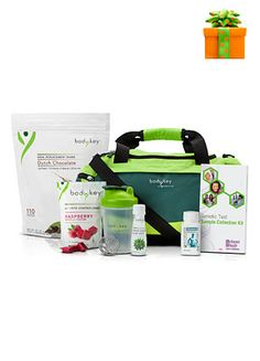 The BodyKey™ Jump Start Kit was designed to help you achieve your goals by making better, smarter choices every day. Each kit provides delicious BodyKey™ products, Nutrilite® supplements and access to online support to prepare you for the BodyKey4 Plan. Jump start your progress by taking the Inherent Health® Weight Management Genetic Test that's included to find the meal plan tailored to your DNA.