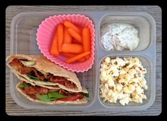 Lunch inspiration from '100 days of real food' This is for my peanut allergy daughter in high school - Nut-Free School Lunch Ideas