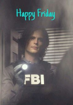 Happy Friday!!! Spencer Reid, criminal minds