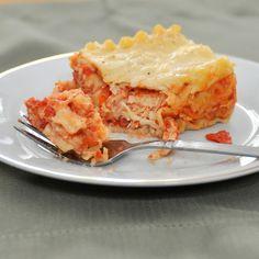chicken lasagna, new go to lasagna!