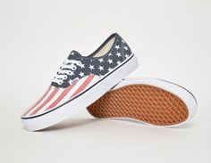#Vans Authentic Van Doren Stars Stripes #sneakers
