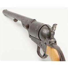 "Colt Model 1872 open top .44 rim fire caliber revolver with factory 7 ½"" barrel, iron back strap a"