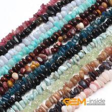 "6x8mm Freeform Natural Stone Beads: Peridot,amazonite,Aventurine,Sun Stone,Tourmaline,Garnet,Chalcedony,Strand 15"" Free Shipping(China (Mainland))"