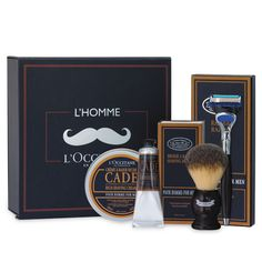 Men's Luxury Shave Set | Cade | L'OCCITANE en Provence | United States