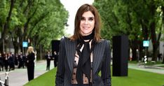 To celebrate Armanis 40 year anniversary, women wore power suits to the party. Check out the lovely party style. Armani Suits, 40 Years, Party Fashion, Party Dress, Women Wear, Anniversary, Celebrities, How To Wear, Nova