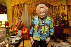 Edith Susskind, the Grande Dame of Staten Island.