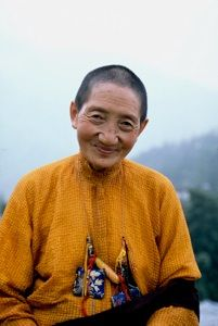 Ani Patchen, wonderful Tibetan Buddhist nun who suffered greatly under the Chinese occupation of Tibet. Image from Dan Farber
