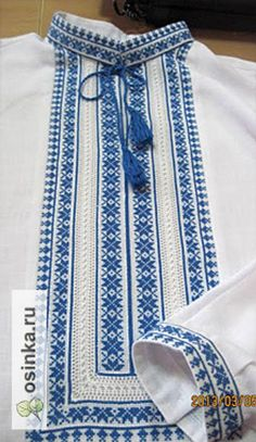 Embroidery On Kurtis, Hand Embroidery Dress, Kurti Embroidery Design, Folk Embroidery, Hand Embroidery Designs, Applique Designs, Cross Stitch Embroidery, Embroidery Patterns, Machine Embroidery