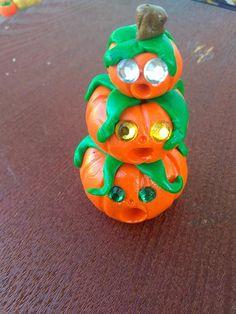Accessories Miniature Dollhouse FAIRY GARDEN Crow Standing on a Pumpkin