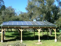 7.84 special carport mount solar PV system designed and installed by Solare Energy.