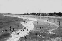 Fortaleza - Ceará Foto da Praia de Iracema  em 1930